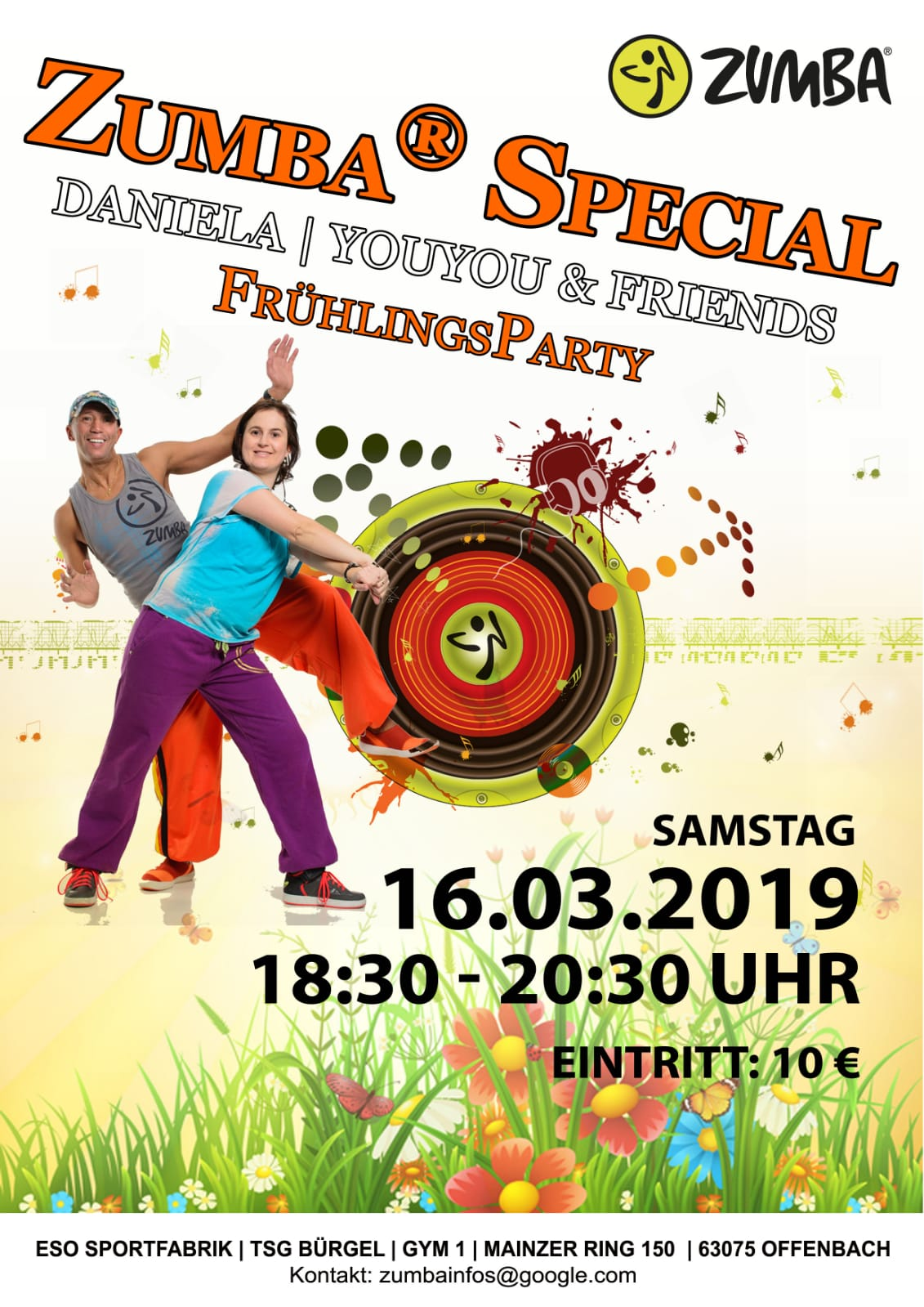 Zumbaparty buergel 160319